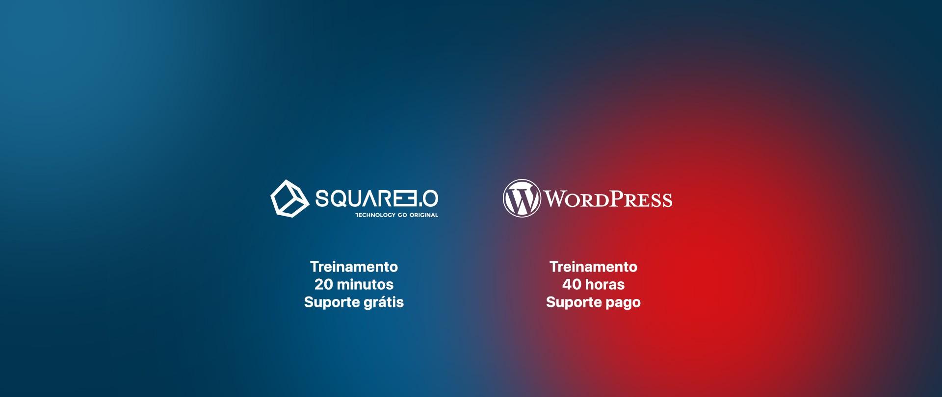 Foto: SQUARE 3.0 versus Wordpress, entenda a diferença!