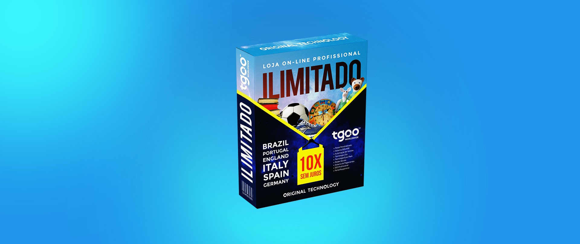 Foto: Pacote de Tecnologias Ilimitado com layout personalizado